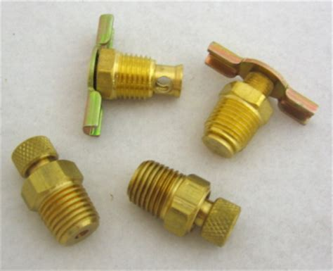 air compressor drain valves
