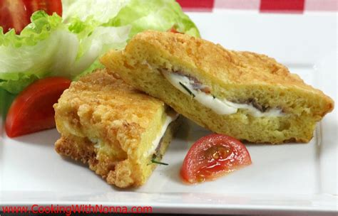 mozzarella in carrozza mozzarella in carrozza with anchovies