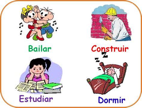 imagenes en ingles verbos trabandolenguas los verbos