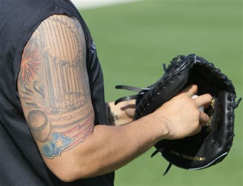 yadier molina tattoos cardinals report date sports st louis