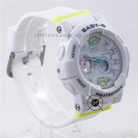 Jam Tangan Baby G Hijau harga sarap jam tangan baby g bga 180 7b2 putih hijau