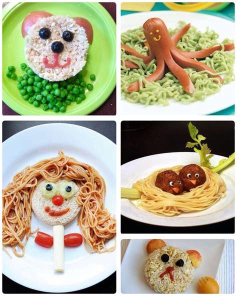 recetas de cocina creativa decorar platos para ni 241 os comida creativa pinterest