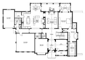 open one story house plans home plan 152 1004 floor inspiring large one story house plans 7 large one story