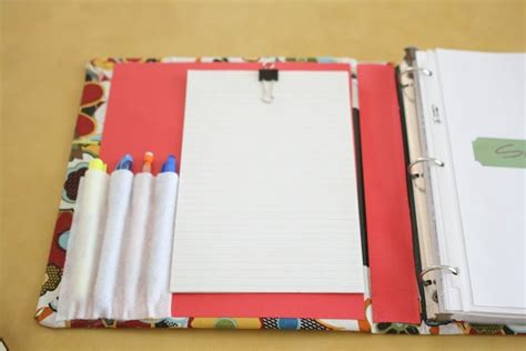 Binder Sticth 20ring 4 sugar and stitches diy home organization binder craft ideas binder