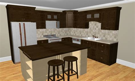 Kitchen Island Stove Top by Whether To Place A Refrigerator In The Corner