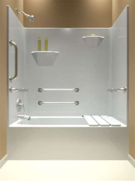 one piece shower bathtub units one piece whirlpool tub and shower units 60 quot x 31 quot x 75