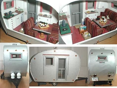 black doll trailer ideas for doll house trailer airstream miniature
