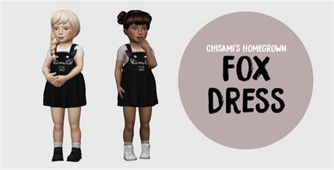 Owl Overal Dress sims 4 cc s the best toddlers dress shoes by owl