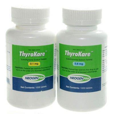 levothyroxine for dogs thyrokare levothyroxine for dogs vetrxdirect pharmacy 0 8mg tablet
