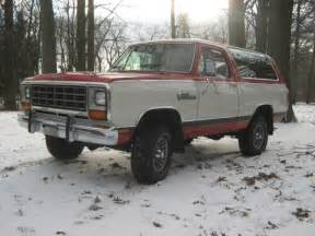 Dodge Ramcharger 1986 1986 Dodge Ramcharger Royal Se 4x4 Western Truck No Rust