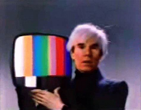 tv test pattern animated gif andy warhol art gif find share on giphy