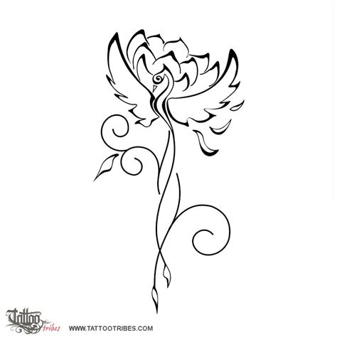 tattoo phoenix lotus lotus feu and tatouages on pinterest