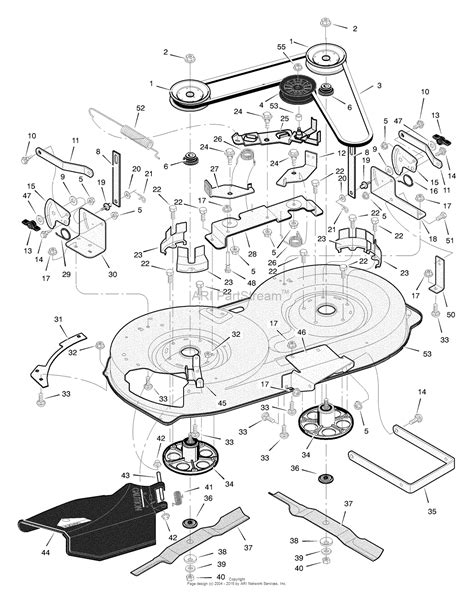 murray parts diagram murray 405000x8c lawn tractor 2004 parts diagram for