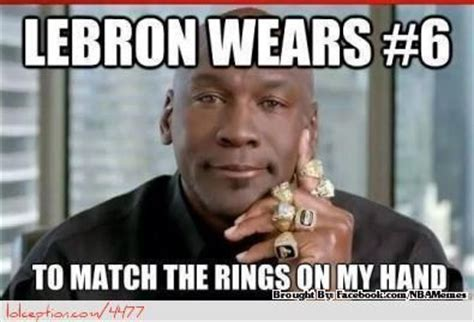 Michael Jordan Shoe Meme - lebron james vs michael jordan http