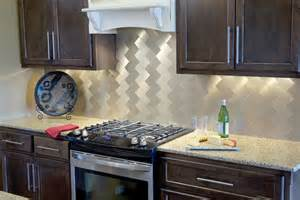 vinyl tile as a backsplash