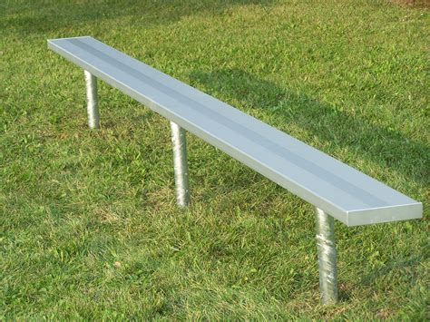 picnic table bench legs benches with steel legs national recreation systems