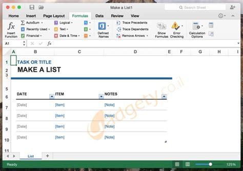 themes in excel for mac גרסת הדגמה של אופיס 2016 למקינטוש זמינה כעת להורדה בחינם