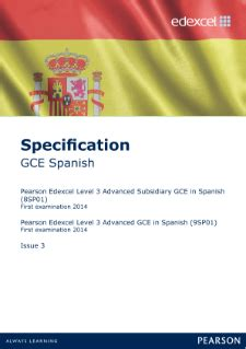 edexcel a level spanish edexcel a level spanish pearson qualifications