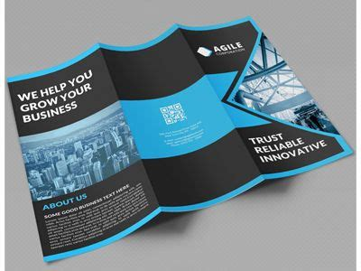 creative corporate tri fold brochure vol  tri fold