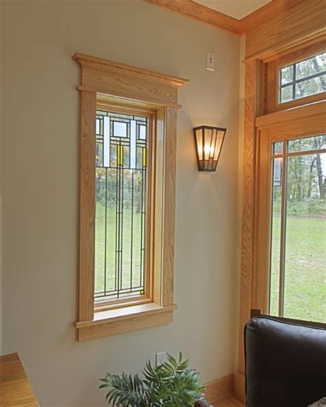 interior wood trim styles farmhouse with craftsman influences craftsman family