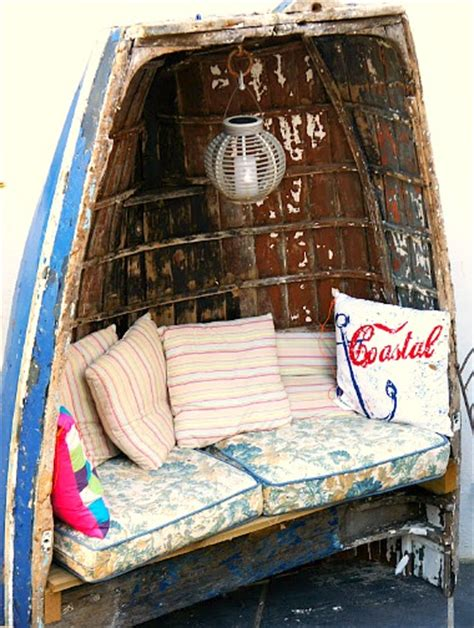 Garden Decoration Boat by 16 Home Decor Ideas With Boats Repurposed Boats