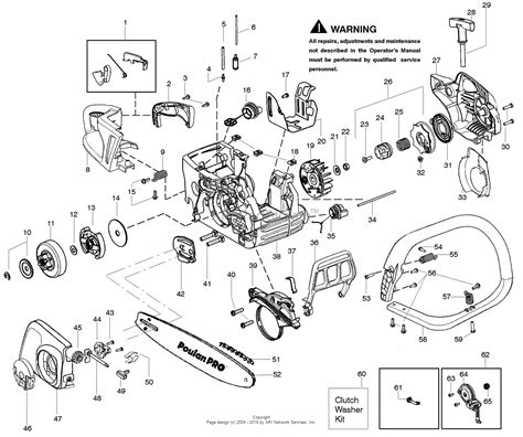 poulan thing chainsaw parts diagram poulan pp4218avx gas saw 4218avx poulan pro parts