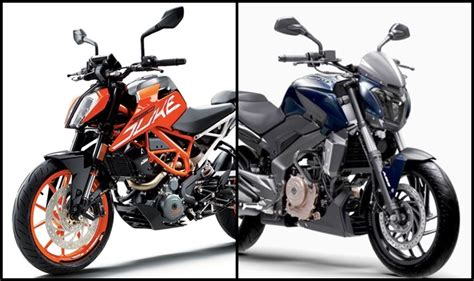 Ktm Duke 390 New 2017 Ktm Duke 390 Vs Bajaj Dominar 400 Price In India