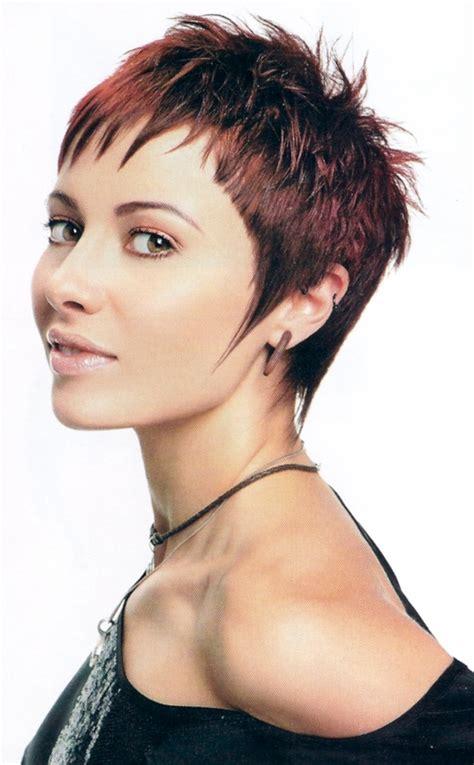 short hair cute medium haircuts short spikey hairstyles for women