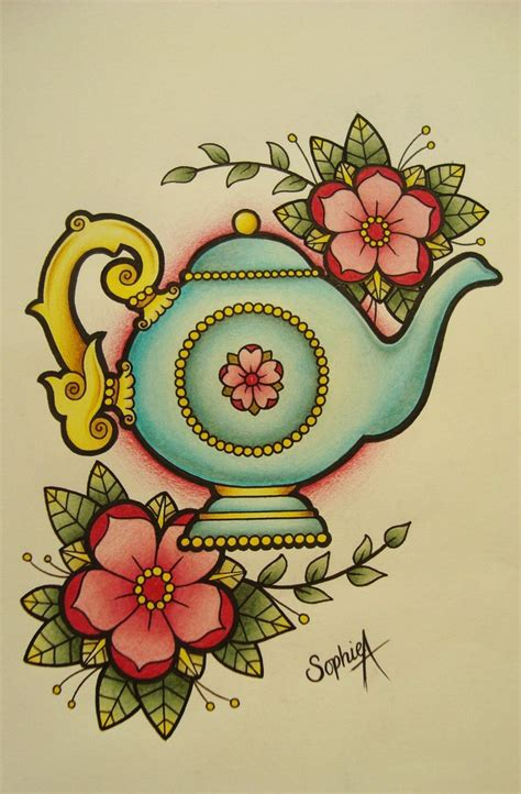 teapot tattoo designs teapot by rodjaasexface on deviantart