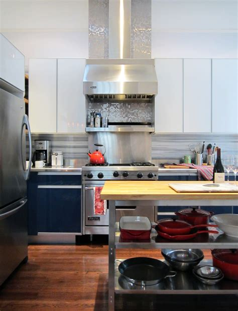 steel backsplash kitchen how to make the most of stainless steel backsplashes