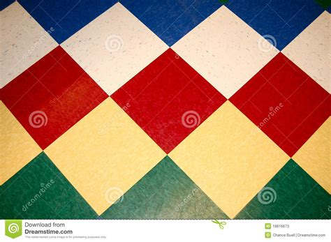 colorful diamond tile floor stock photos image 18616673