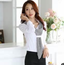 Kemeja Putih Wanita Lengan Panjang Pandah 24 kemeja kerja wanita yang sedang populer model baru