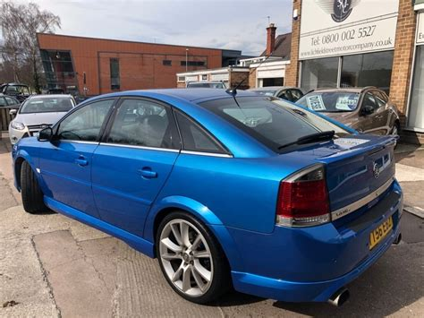 vauxhall blue used blue vauxhall vectra for sale staffordshire
