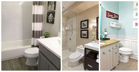 small bathroom color schemes