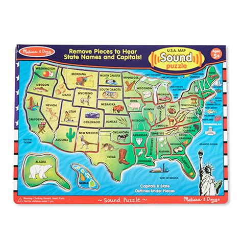 usa map sound puzzle reviews doug 174 u s a sound puzzle boscov s