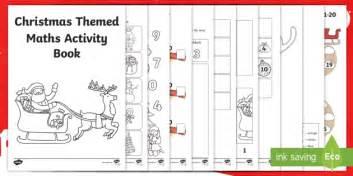 themed stories nz maths eyfs christmas themed maths activity booklet mathematics