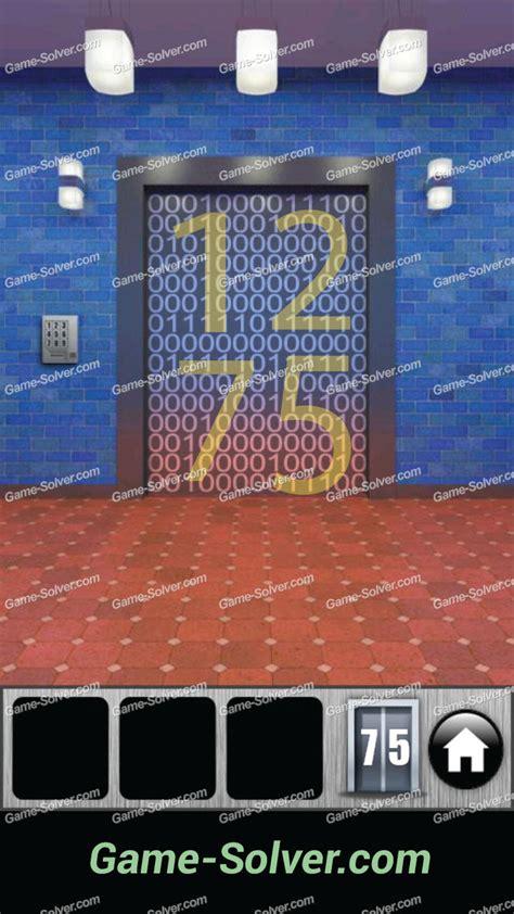 100 doors 2013 lvl 2 100 doors 2013 level 75 game solver