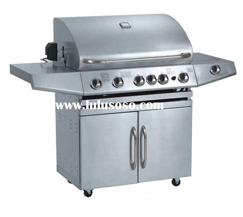 430 grade 3 burner propane gas burner grill with infrared