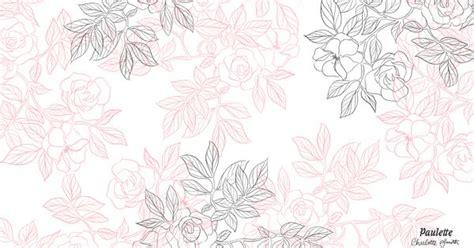 Les Fonds D 201 Cran De Paulette Papier Peint 224 Fleurs