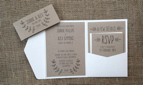 wedding invitation pocket folds uk best 25 pocketfold wedding invitations ideas on