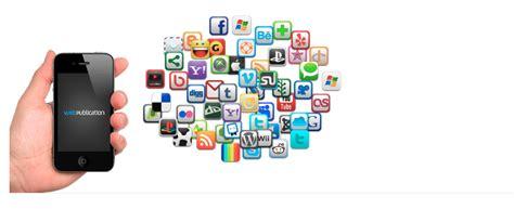 create mobile applications mobile application webpublication
