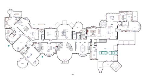 floor plan mansion mansions more october 2012