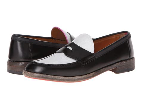 marc loafers marc loafer black white shipped free at zappos