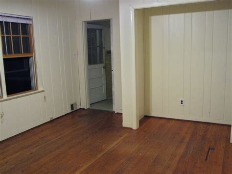 painted wood paneling before and after 301 moved permanently