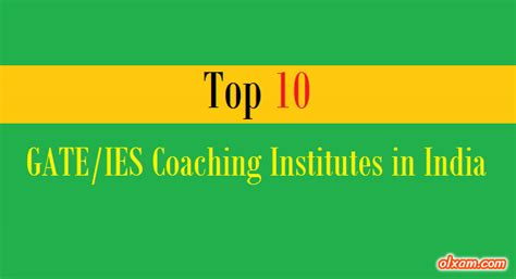 Top 10 Mba Coaching Institutes In India by Top Best 10 Gate Ies Coaching Institutes In India Ekxam