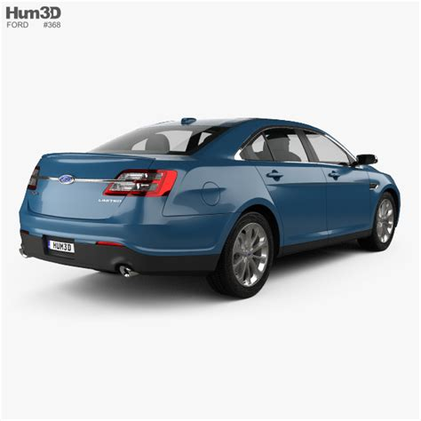 2013 Ford Taurus Limited by Ford Taurus Limited 2013 3d Model Hum3d