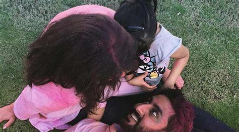 aishwarya rai bachan instagram abhishek bachchan celebrated holi with his girls wife