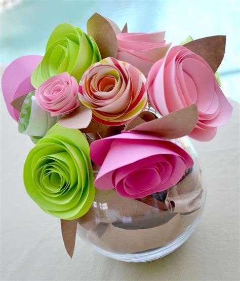 fiori semplici di carta come fare fiori di carta semplici fiori di carta come