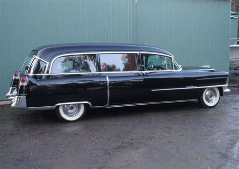 55 Cadillac Hearse Corbillards Cars For The Funeral