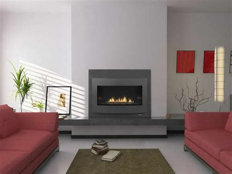 fireplace ideas modern decoration contemporary gas fireplace design with red